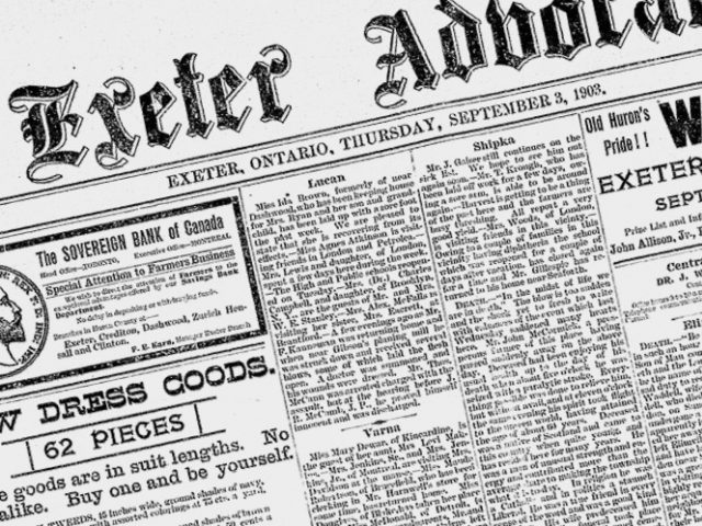 Digitized Newspapers