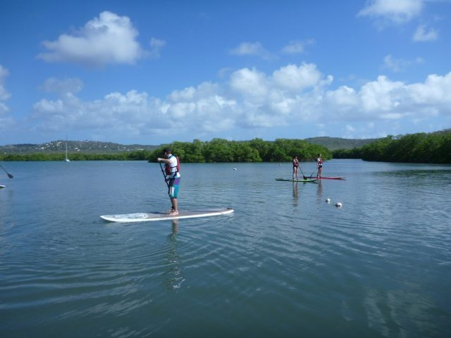 SUP Lesson Yoga Den