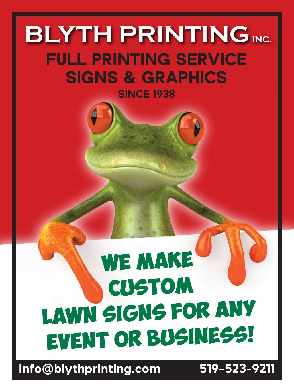 Customized Celebration Sign (Blyth Printing) Image