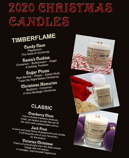 Christmas Candles (Solace on Turnberry) Image