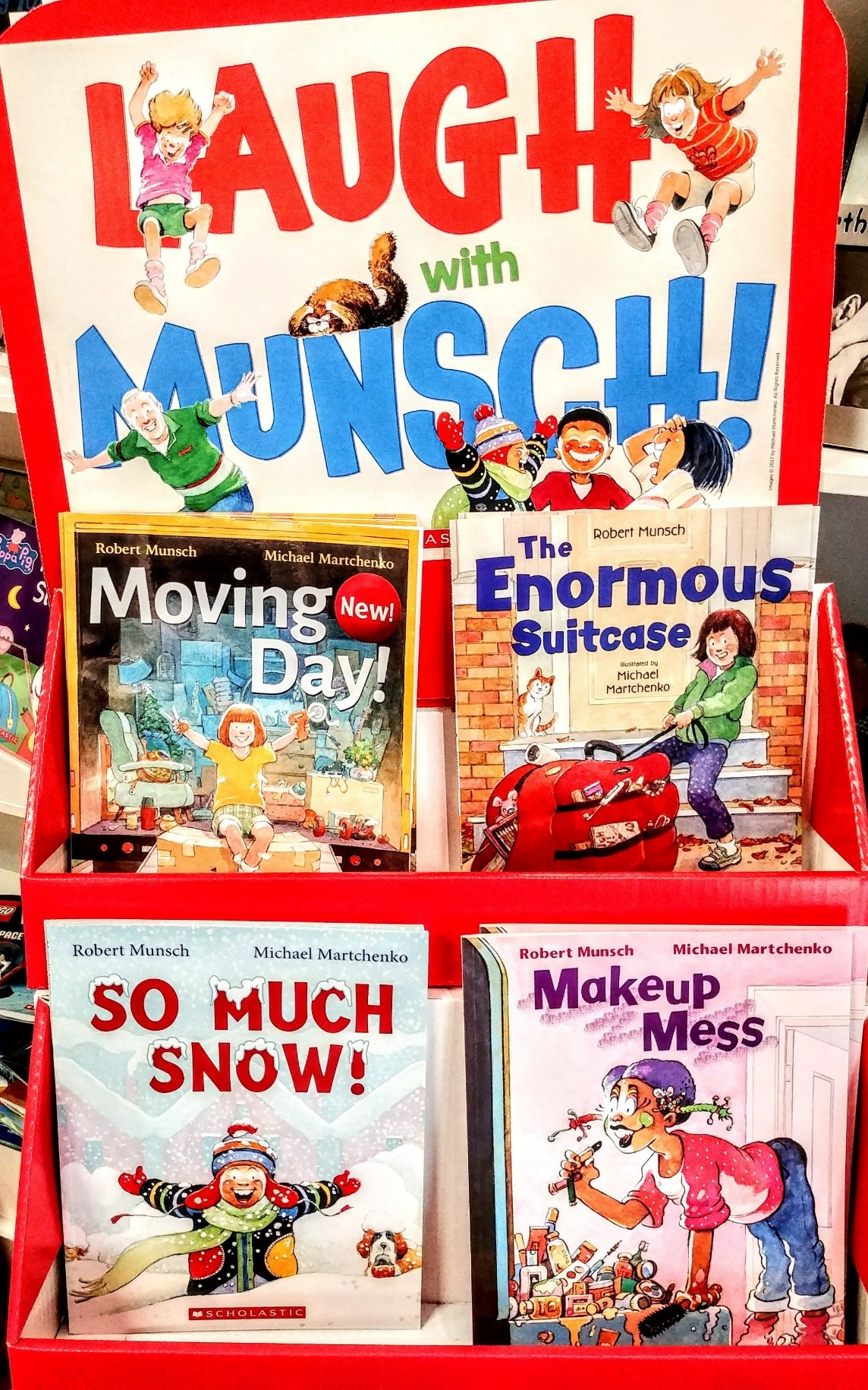 Laugh with Munsch (Dens and Friends) Image