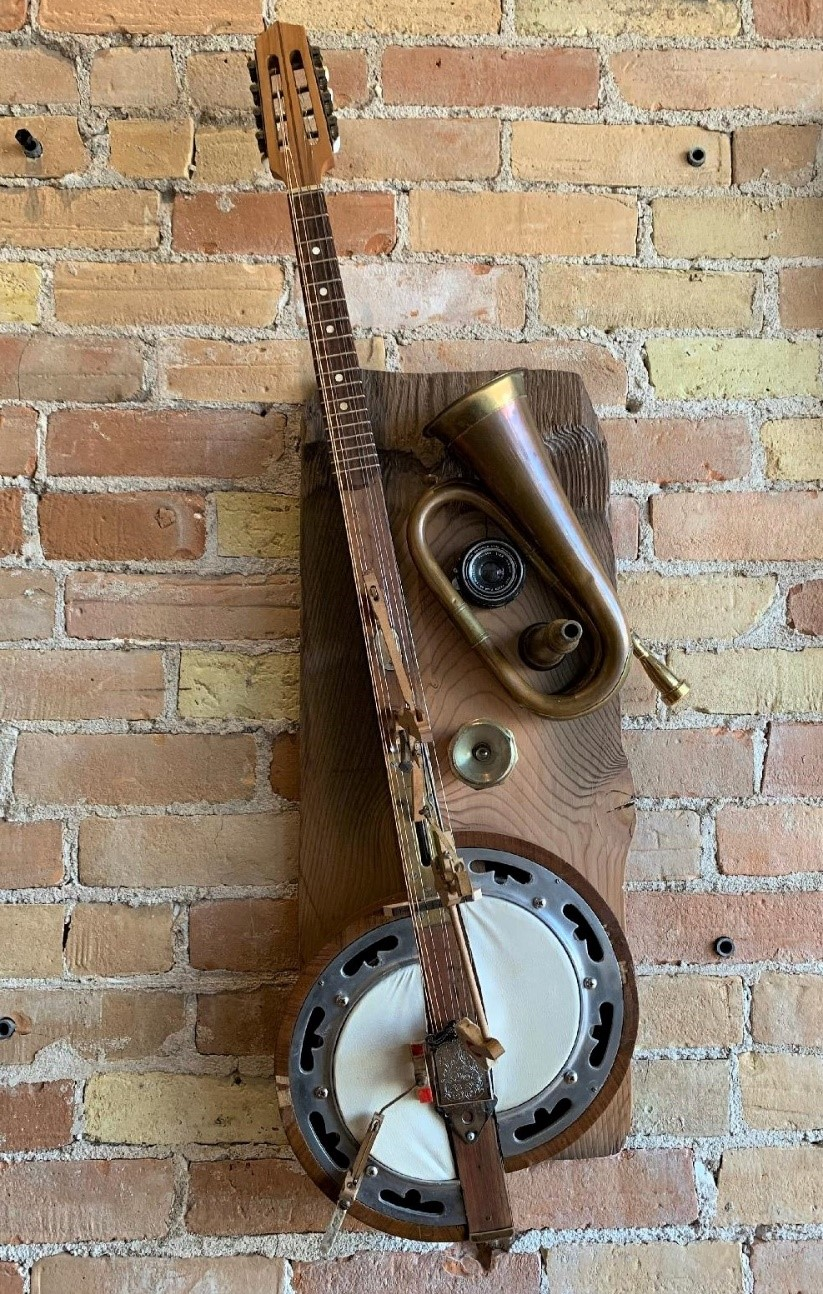 Mixed Media Sculpted Instruments (Wild Goose Studio Canada) Image