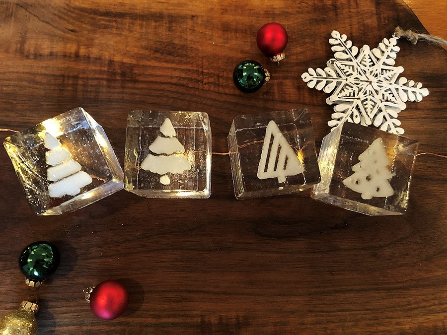 Holiday Cocktail Cubes (Iceculture Inc.) Image