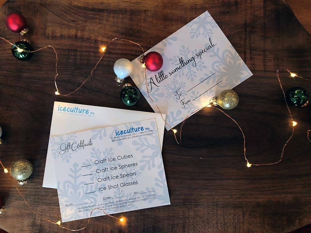 Gift Certificate (Iceculture Inc.) Image