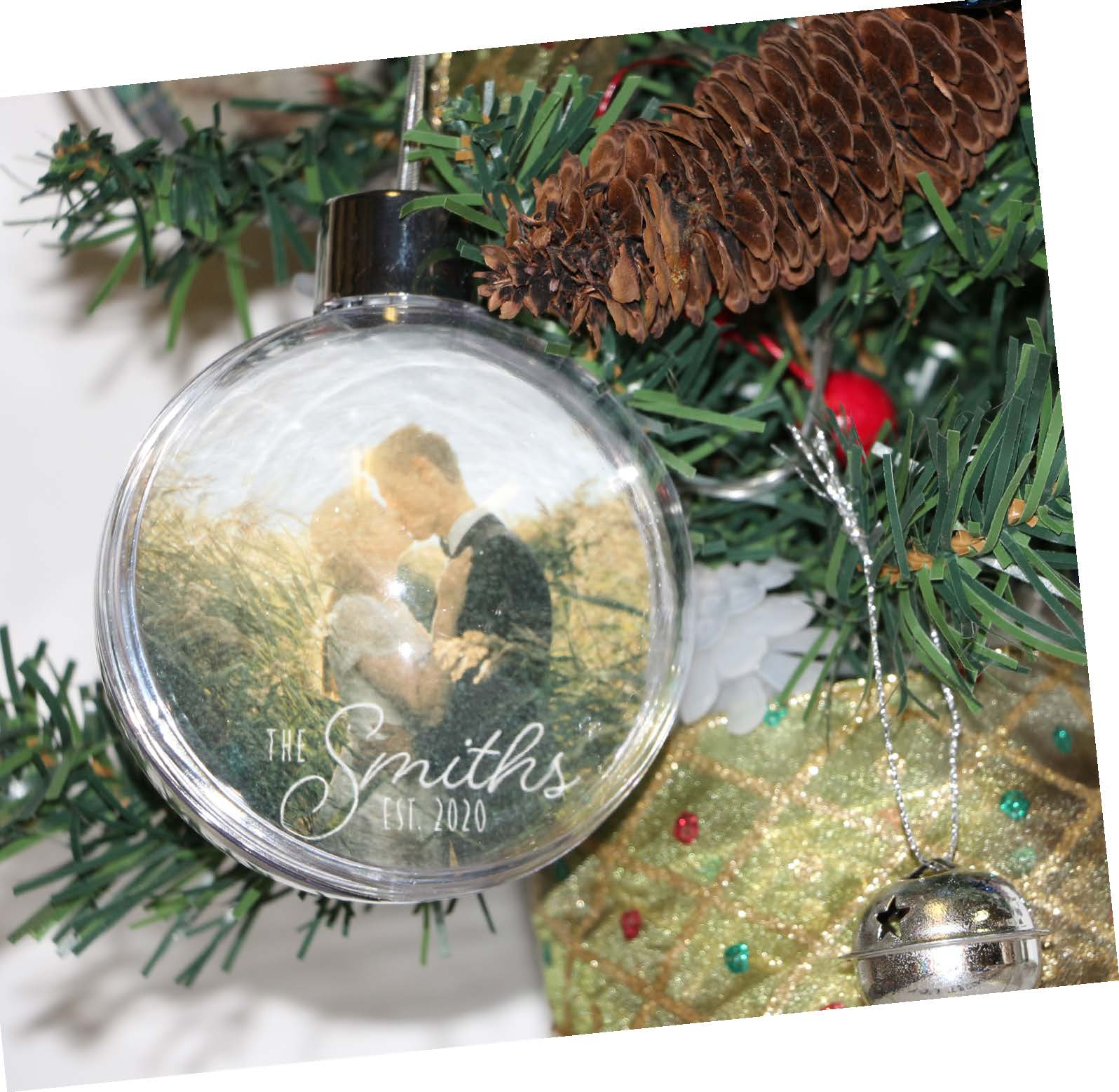 Personalized Ornament (five one nine prints & frames) Image