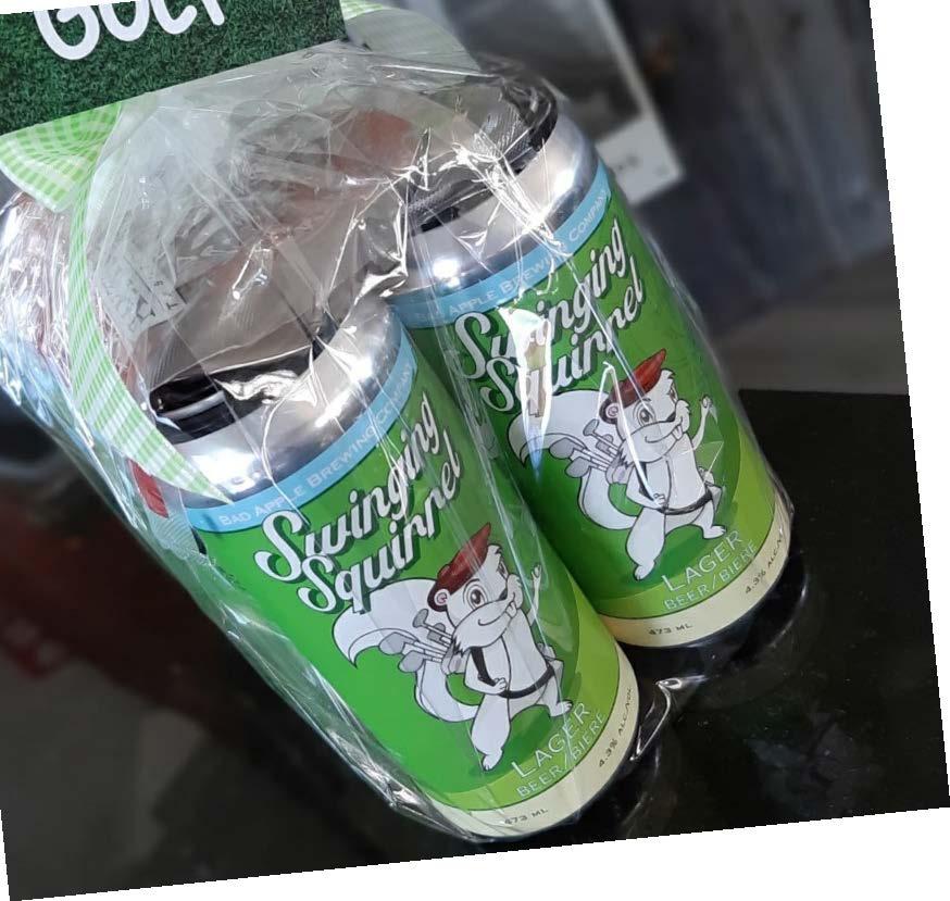 Swinging Squirrel Beer (White Squirrel Golf Club) Image