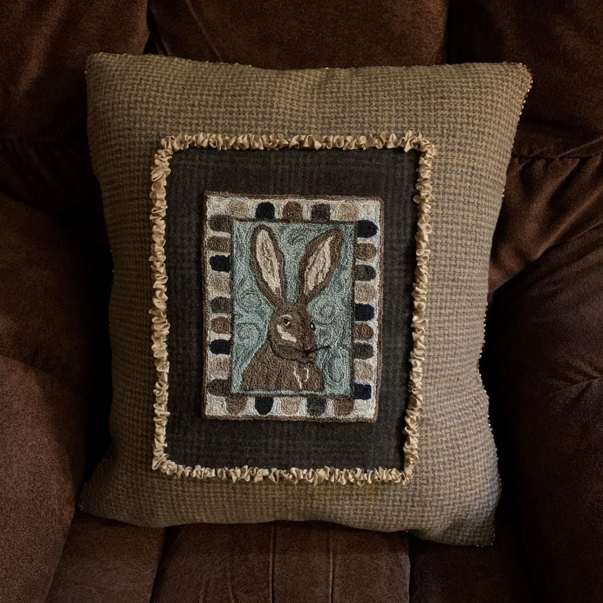 Mr. Baggins Pillow Pattern (The Cotton Harvest Quilt Shop) Image