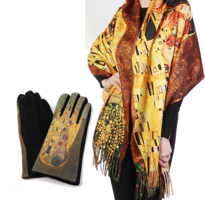 Oil Painting Scarves & Gloves (The Gift Chest) Image