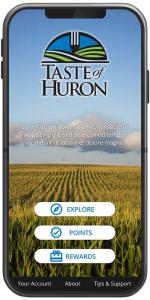 Screenshot of Taste of Huron App